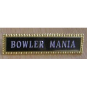 Bowlers Engraved Name Badges