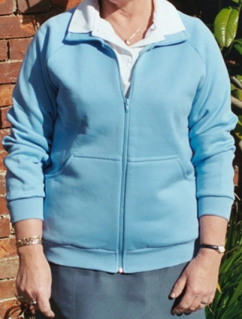 Coloured zipped Bowls Jackets and Cardigans
