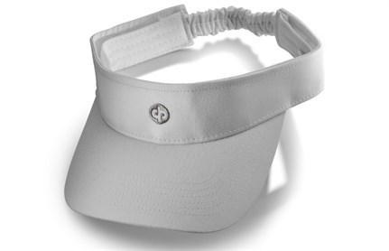 Elasticated sun visor