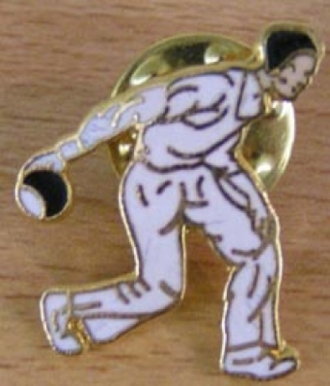Gent or Lady Bowler Badge