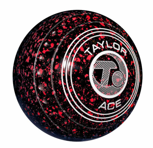 Taylor Black Red Ace Coloured Bowls (SPECIAL OFFER)