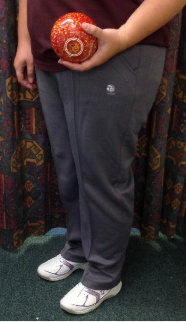 Taylor Ladies Grey Sports Trouser