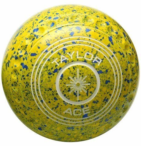 Taylor Yellow Blue Ace Coloured Bowls