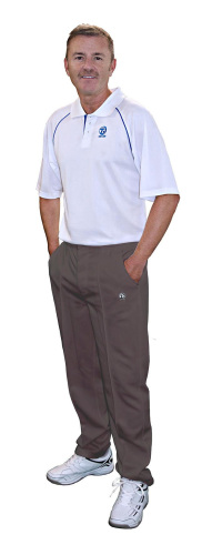 Thomas Taylor Grey Sports Trousers