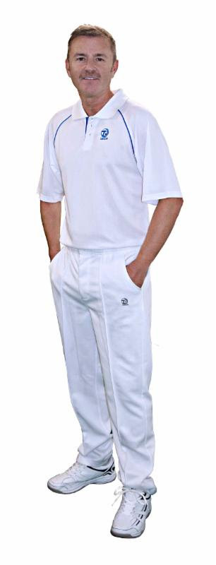 Thomas Taylor White Sports Trousers