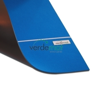 Verdemat Blue Medium Slow Short Mat Carpet