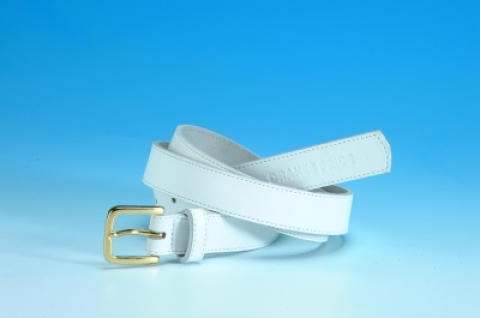 White Leather Belts