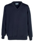 V neck Sweatshirt