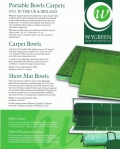 Wygreen County Fast Short Mat Carpet
